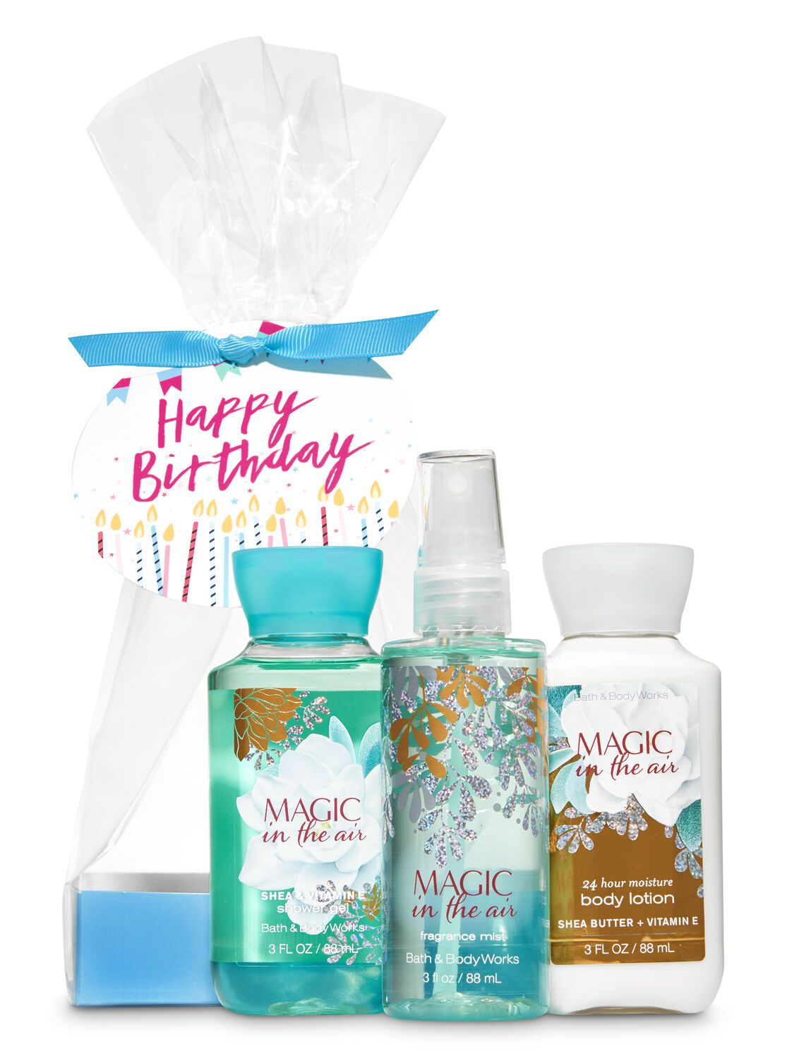 Bath Body Works Magic In The Air Happy Birthday Mini Gift Set