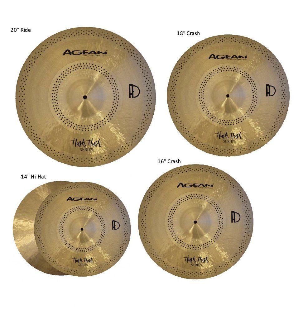 Agean Cymbals Special Jazz Series 16-inch  Special Jazz  Crash