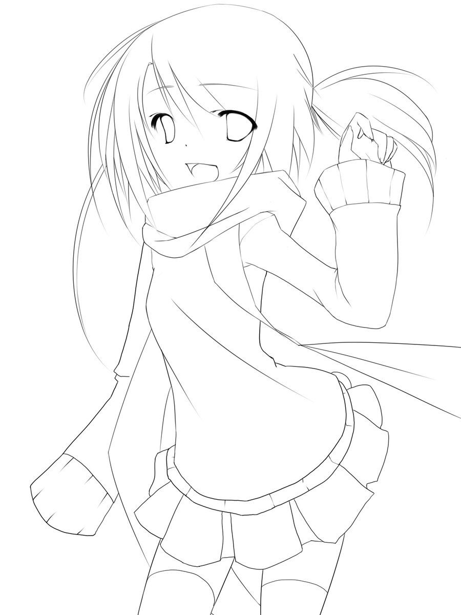 Notebook Sketch Lineart Notebook Sketches Anime Lineart Line Art