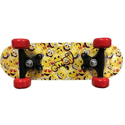 Emoji Skateboard Kids George At Asda Skateboard Parts