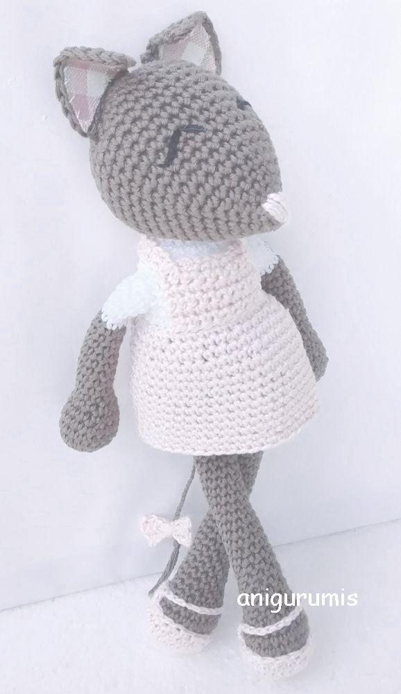 La ratona amigurumi Sita | Crochet amigurumi | Pinterest | Patrones ...