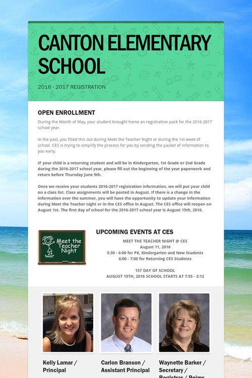 CANTON ELEMENTARY SCHOOL