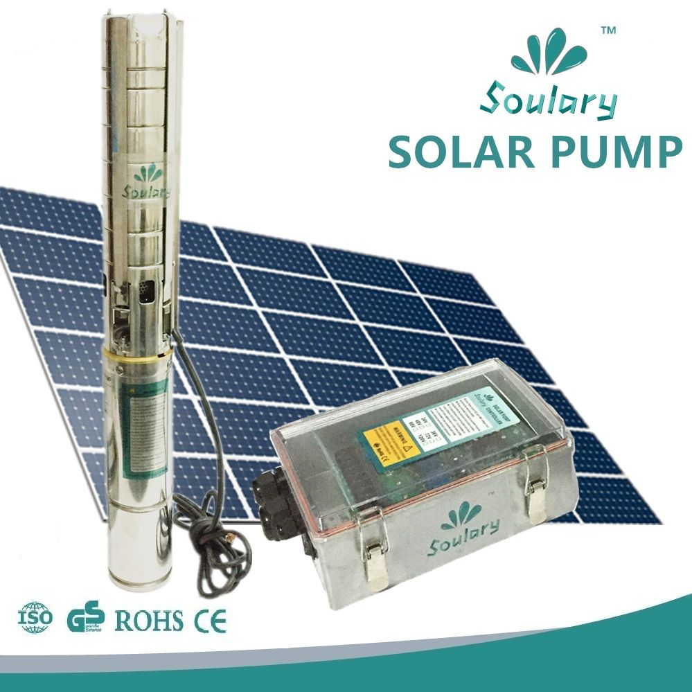 Dhl Free Shipping Dc Solar Pumps For Agriculture Irrigation 1 3w 5 Cbm H 158m Model 4spsc5 158 D90 1300 Affilia Solar Water Pump Solar Submersible