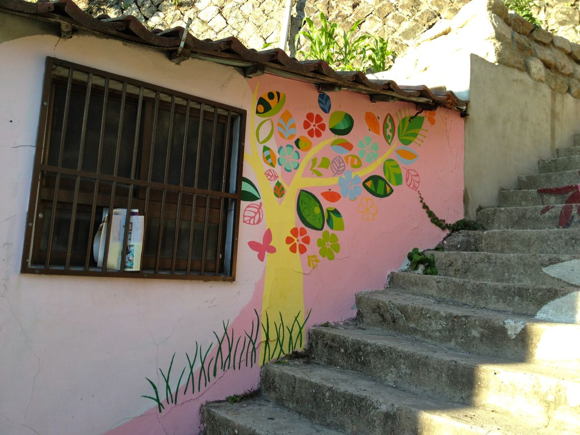 Off the beaten path naksan park and mural village in