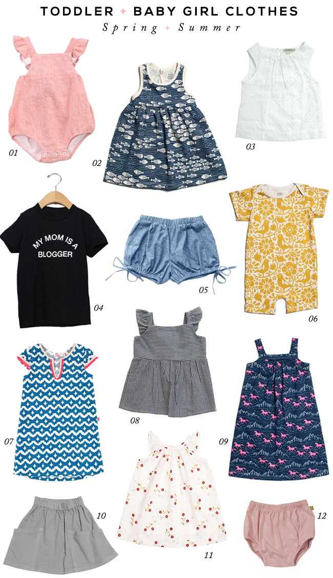 The Cutest (Warm Weather!) Toddler + Baby Girl Clothes ... e25ba3be0