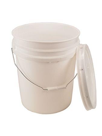 5 Gallon Bucket With Lid Food Grade Buckets Emergency Preparedness Food Storage Bpa Free Plastic