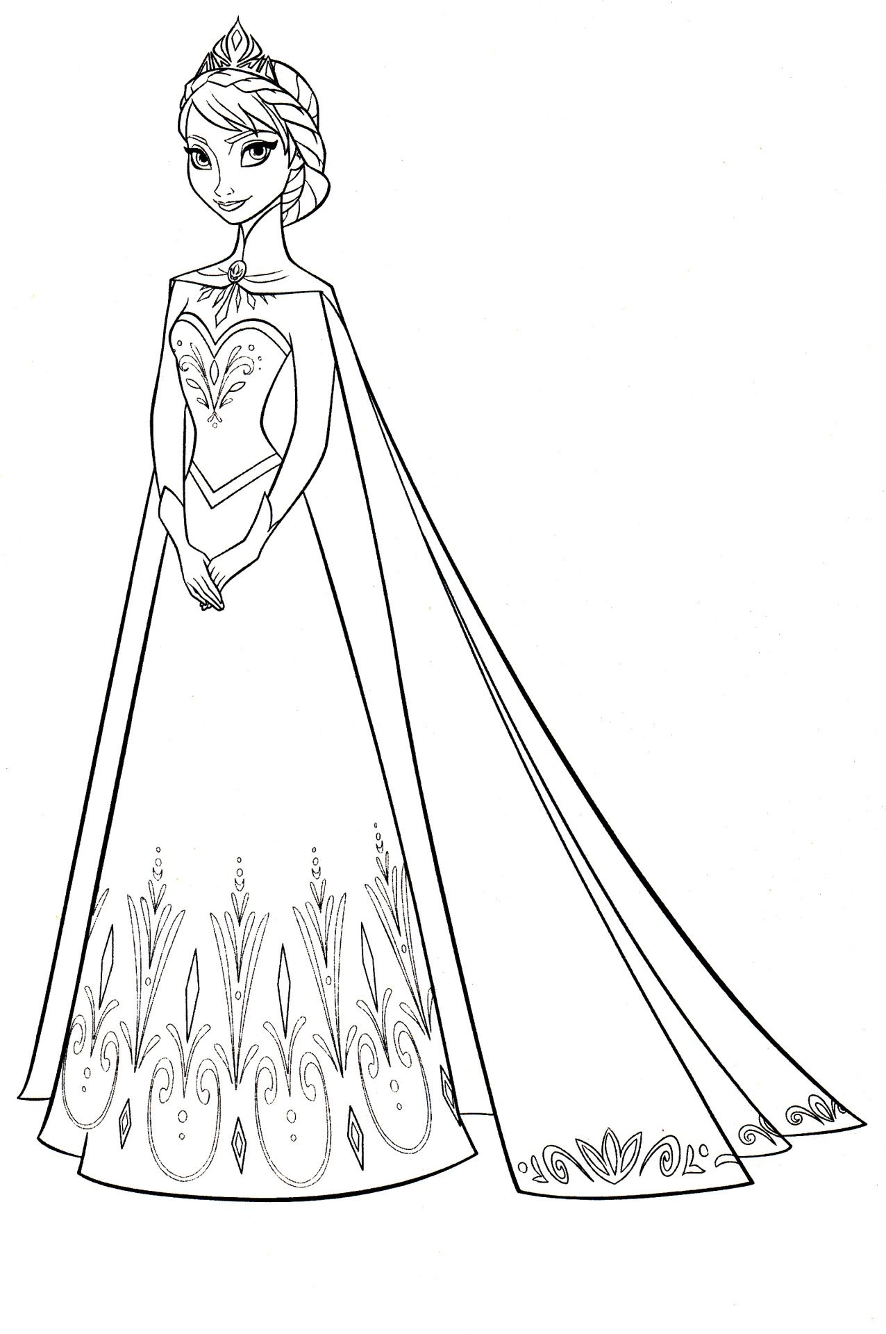 Disney coloring pages stamps pinterest frozen coloring adult