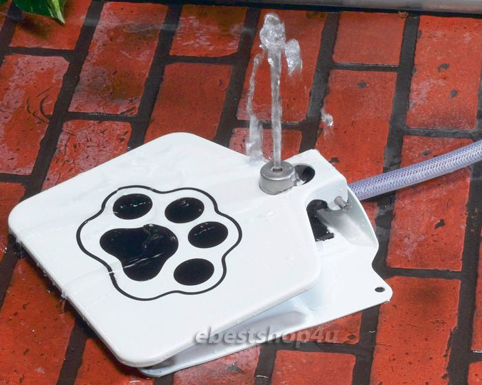 Dog Fountain Hose Attachment Details About Outdoor Pet Steel Water With 41 Splitter