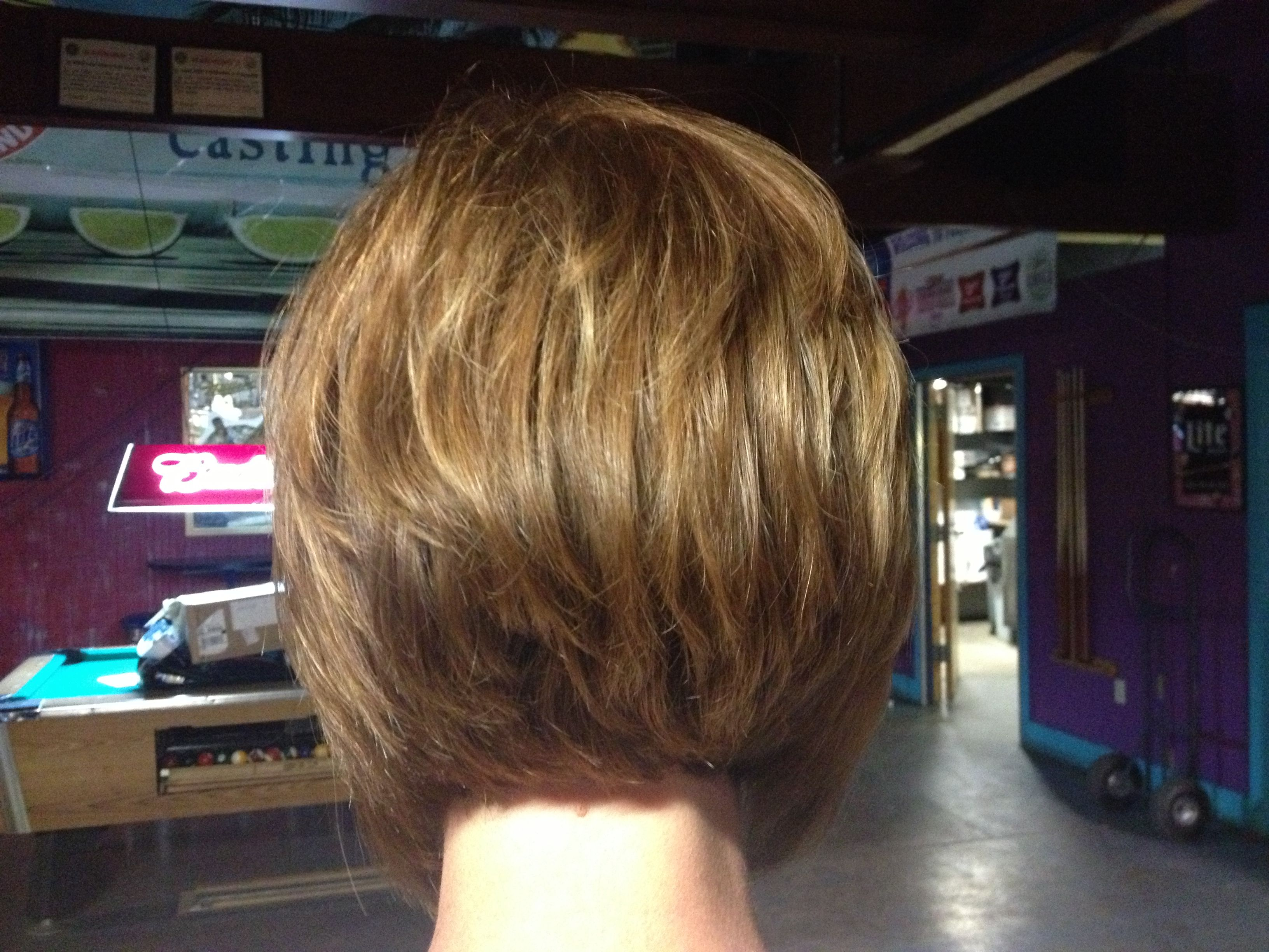 Stacked angled bob | Hair I have done :-) | Pinterest ...