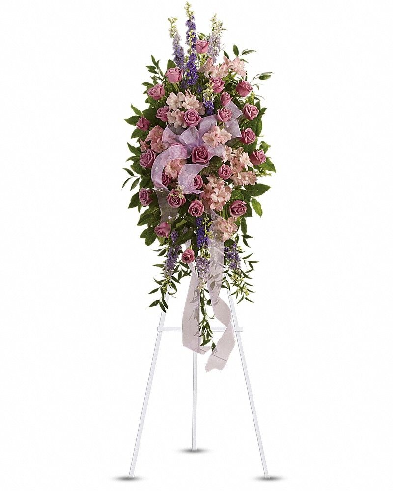 Awesome finest farewell spray check more at http send finest farewell spray by teleflora in uxbridge ma from 77 blossom shop the best florist in uxbridge izmirmasajfo Choice Image
