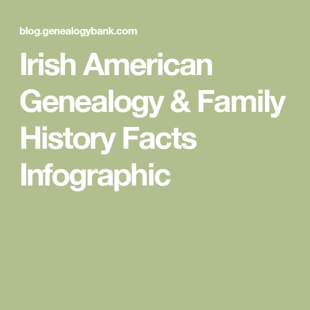 Brush Up On Your Irish Heritage Facts And Find Out Where The Luck Of Came From Plus Famous Americans Common American Names