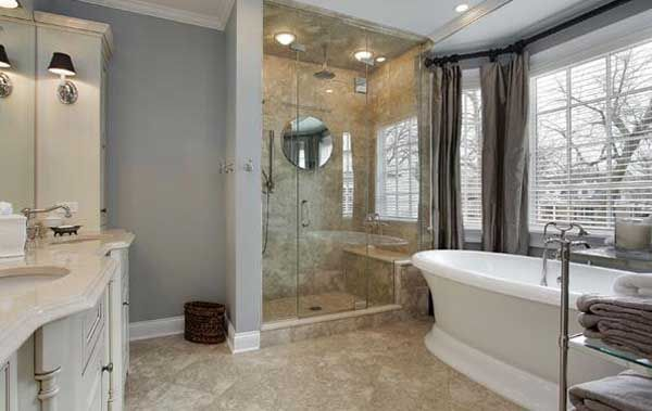 Lovely Large Master Bathroom Decorating Ideas