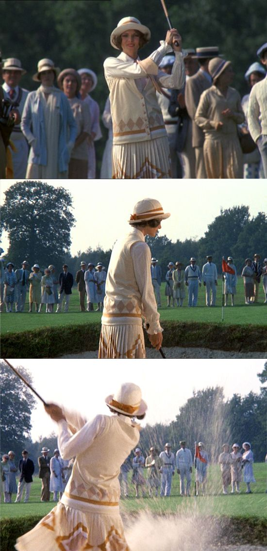 Golfing in The Great Gatsby (1974)