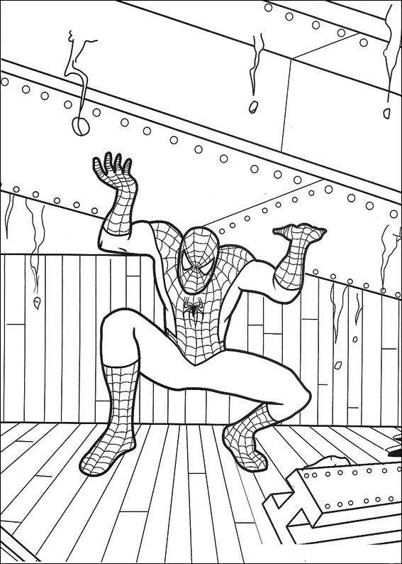 Spiderman Malarbilder 58 Utskrivbara Farglaggningssidor Malarbocker Spiderman