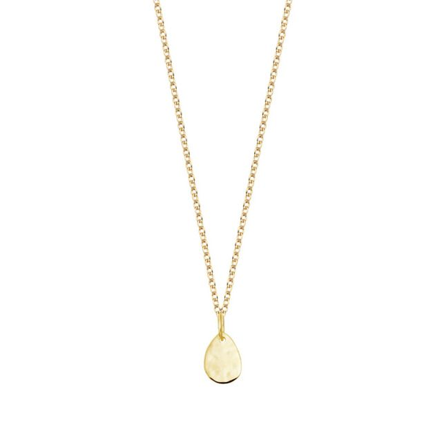 Monica Vinader - Ziggy Mini Petal Pendant 18ct Gold Plated Vermeil on Sterling Silver