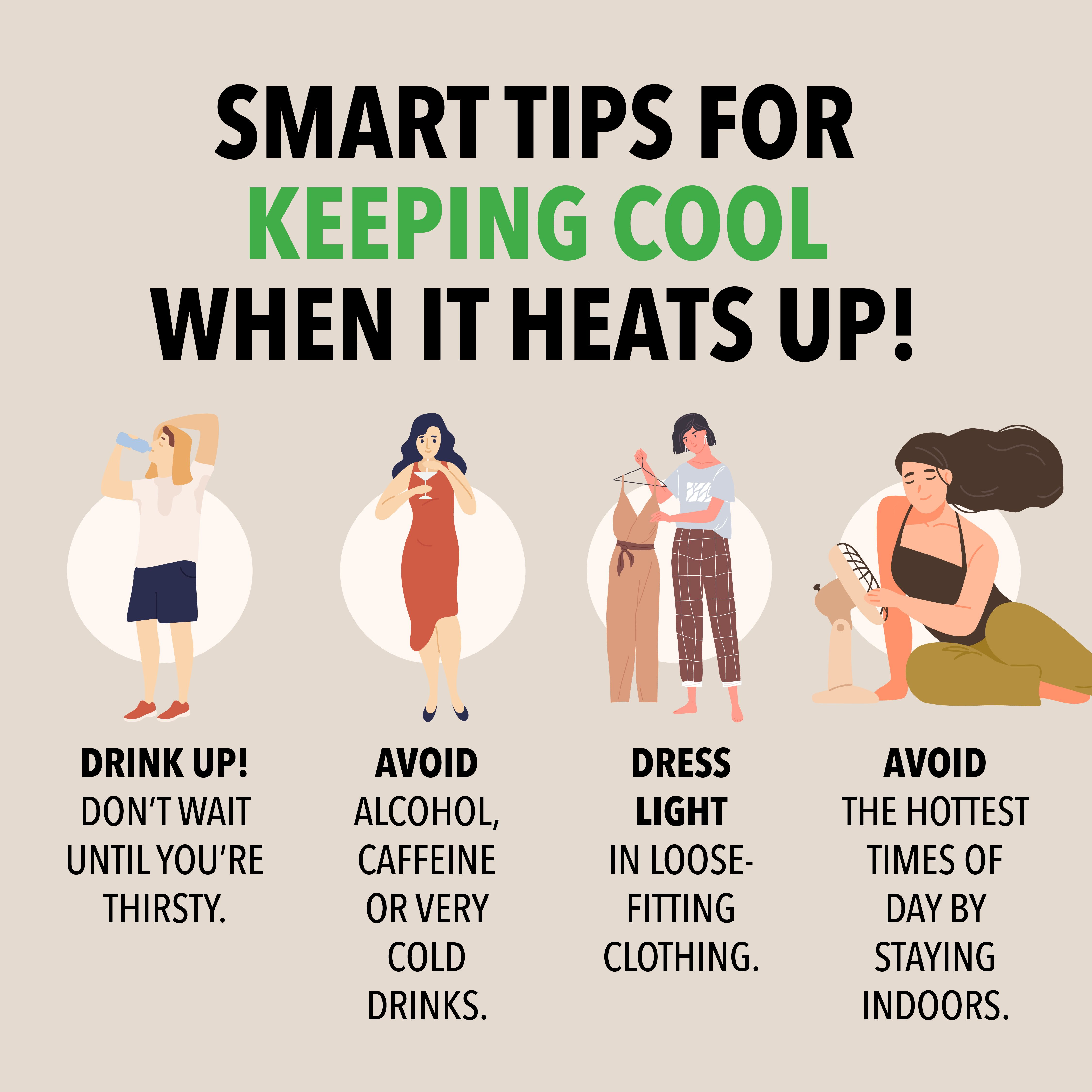 8 Tips to Stay Cool When the Weather Heats Up Exercise