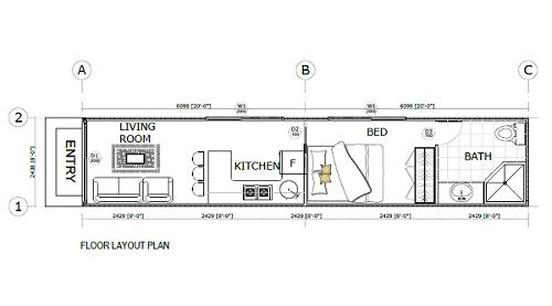 Shipping container home floorplans 84809500772 40 ft - Shipping container home design software free ...