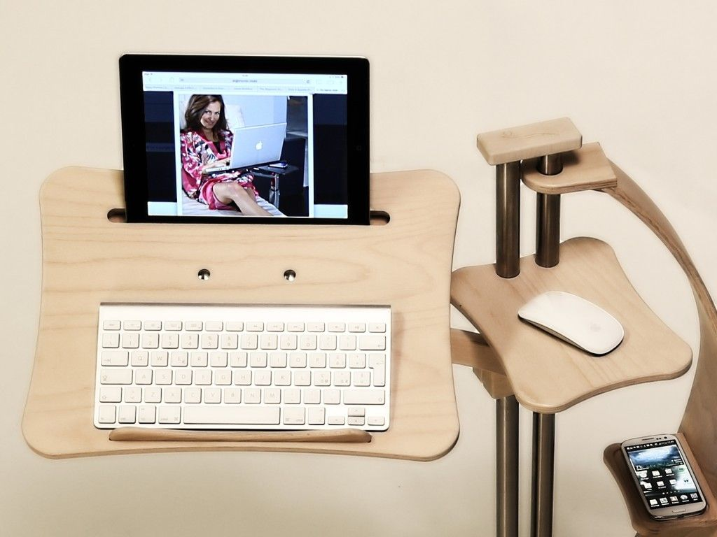 Ergonomic Supports For Notebook And Tablet That Improve Use Of Digital  Devices On Sofa,bed,armchair. Transforms Furniture In A Perfect Laptop Desk