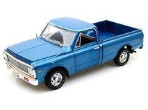 1972 Chevy Fleetside Pickup 1/18 Blue limited 250pc