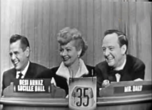 Lucille Ball Desi Arnaz What 39 S My Line October 2 1955