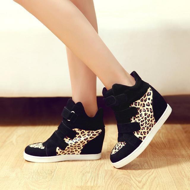 botines nike mujer leopardo