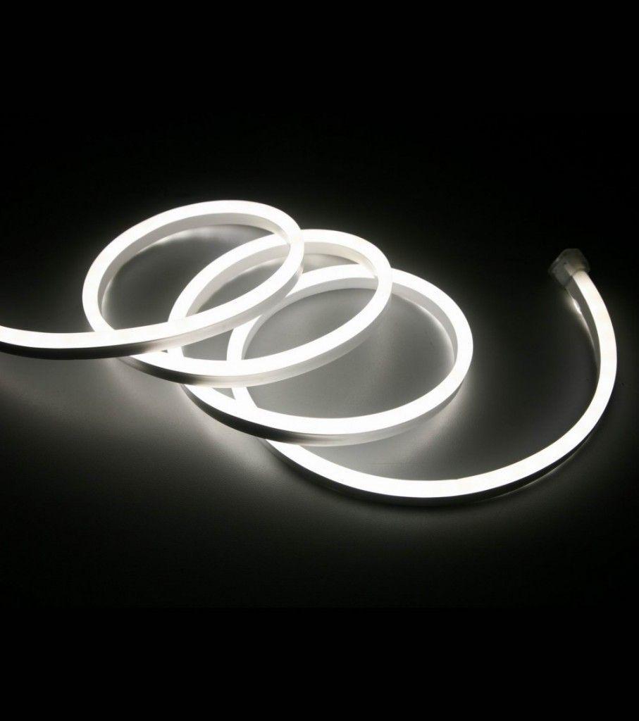 230V Dimbar LED stripe Neon Flex (Varmhvit, 3000K) | Kreativ
