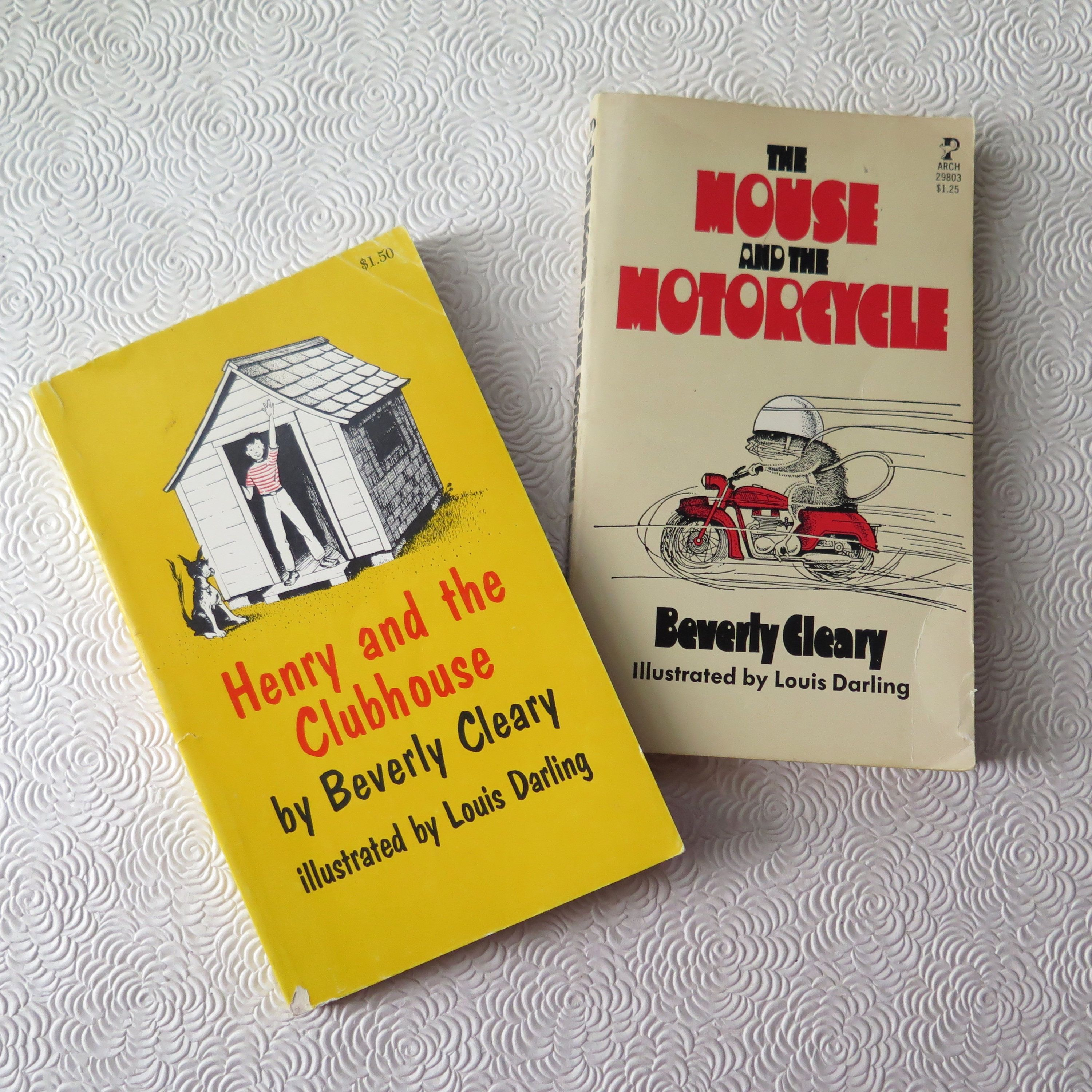 Beverly Cleary Mouse And The Motorcycle Henry And The