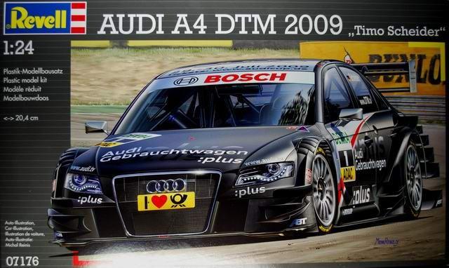 Boxart Audi A4 Dtm 2009 07176 Revell
