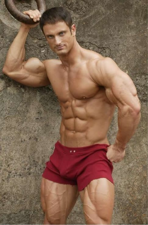 Ripped Muscle Bodybuilder Fitness Model Dan Decker Gay Muscle Worship Muscle Men Bodybuilding