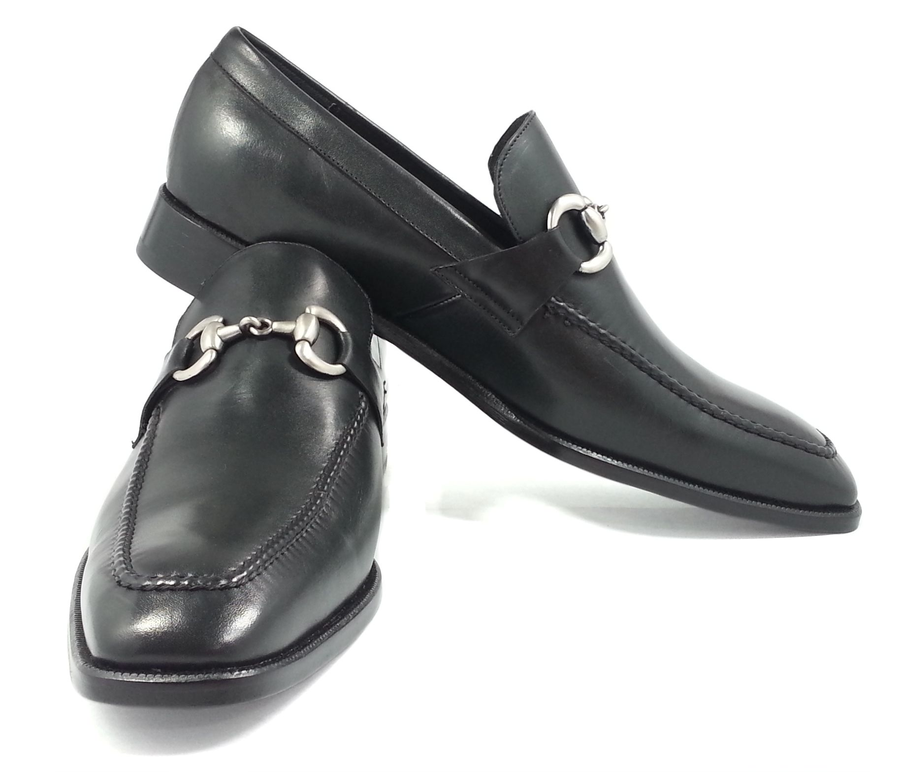 16++ Mens dress shoes with buckle info