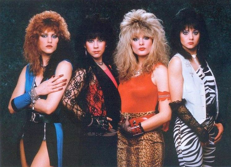 Girl Bands Google Search In 2020 80s Hair Metal 80s Rock Fashion 80s Hair Bands