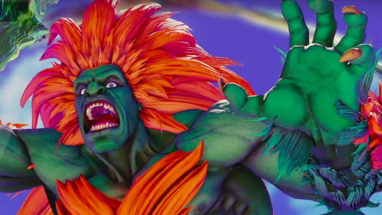 Street Fighter 5 Arcade Edition Official Character Introduction Series Blanka Trailer Learn About The Man From The Br Street Fighter 5 Street Fighter Fighter