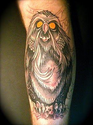 Secret Of Nihm Owl Tattoo Tattoos Tattoos Cartoon Tattoos
