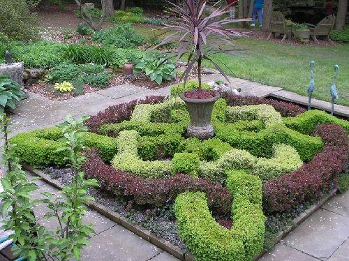 one day ill make a knot garden   Garden, Garden ...