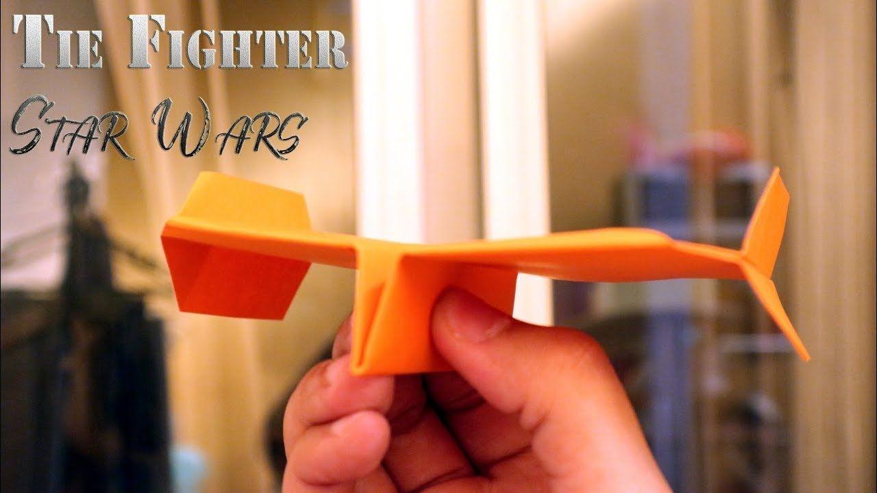 Cara Membuat Origami Pesawat Star Wars Tie Fighter Terbang Jauh Origami Pesawat Star Wars