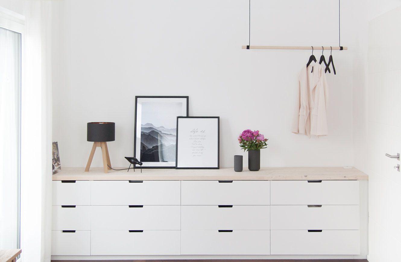 Neue Hangegarderobe Ein Bisschen Mehr Schlafzimmer Schlafzimmer Platzsparende Mobel Schlafzimmer Design