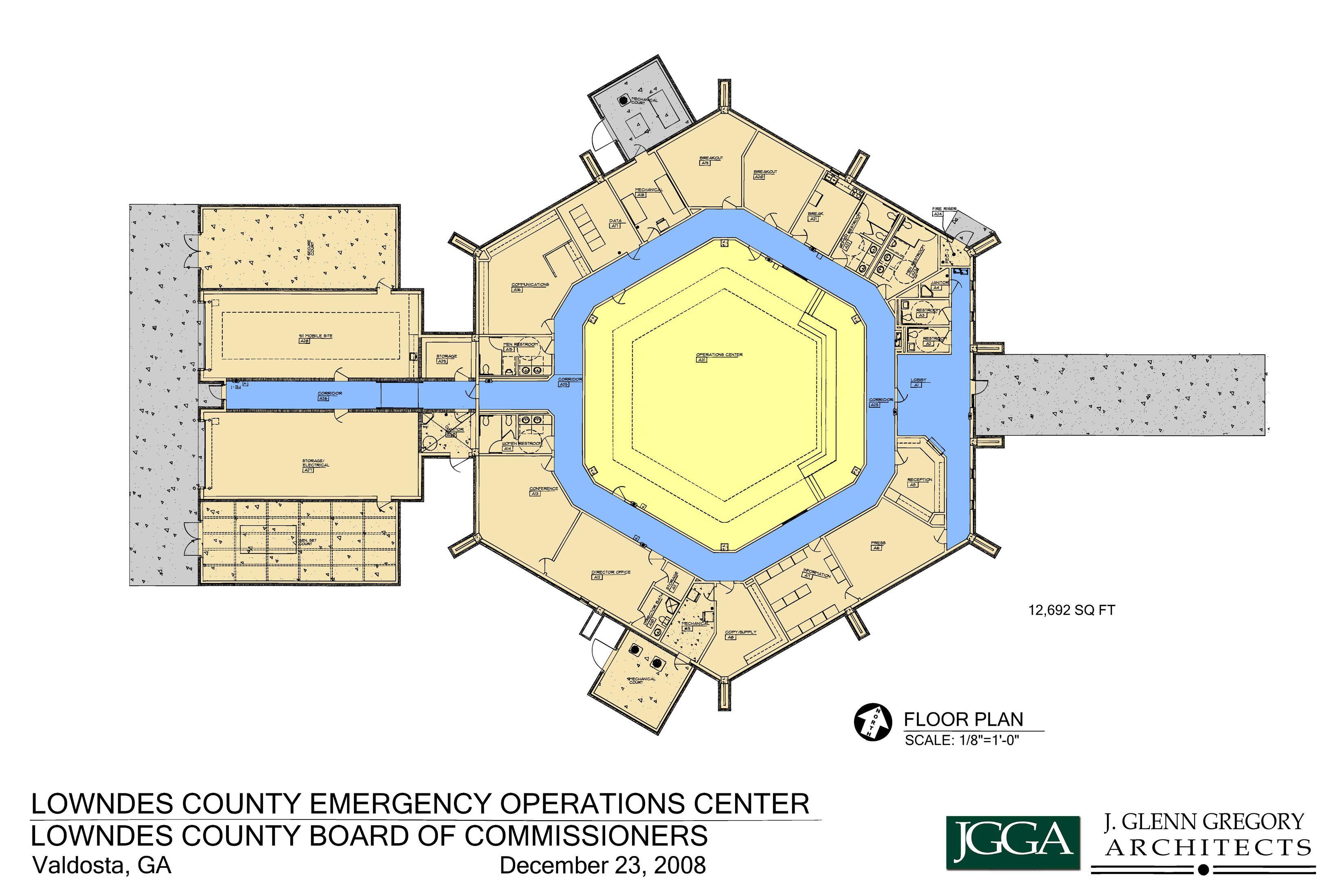 EOC Floor Plan Floor plans