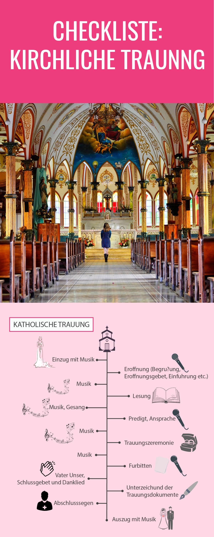 Checkliste Kirchliche Trauung Kirchliche Trauung Spruche Hochzeit Kirchliche Hochzeit
