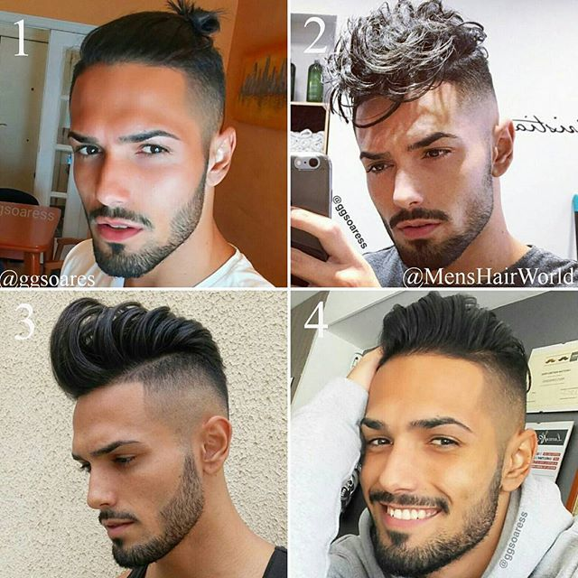 Ggsoaress 1 2 3 Or 4 For More Men Hairstyles Follow