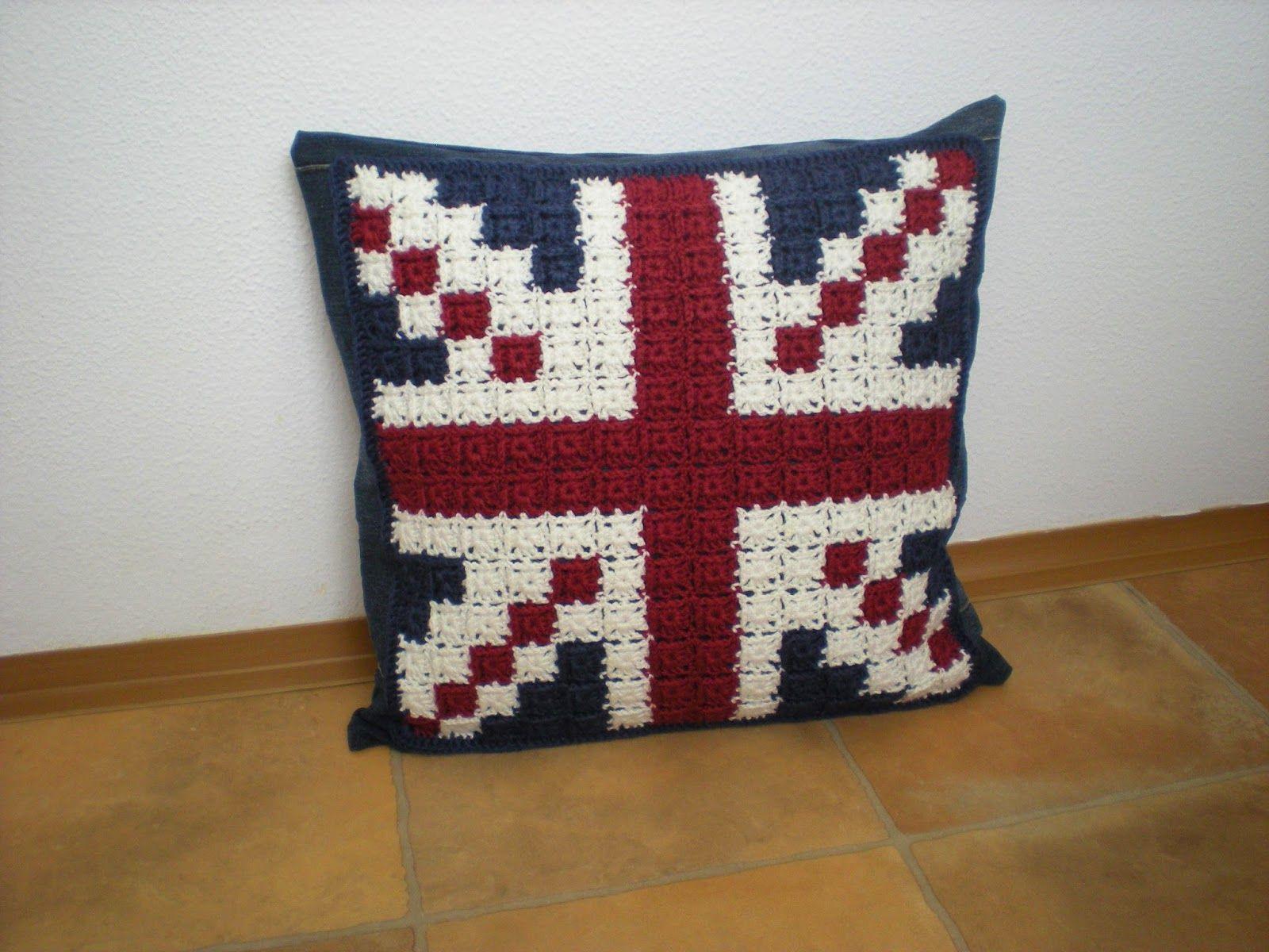 EmmHouse: Feeling Patriotic - Union Jack Pillow / Cushion Cover ...