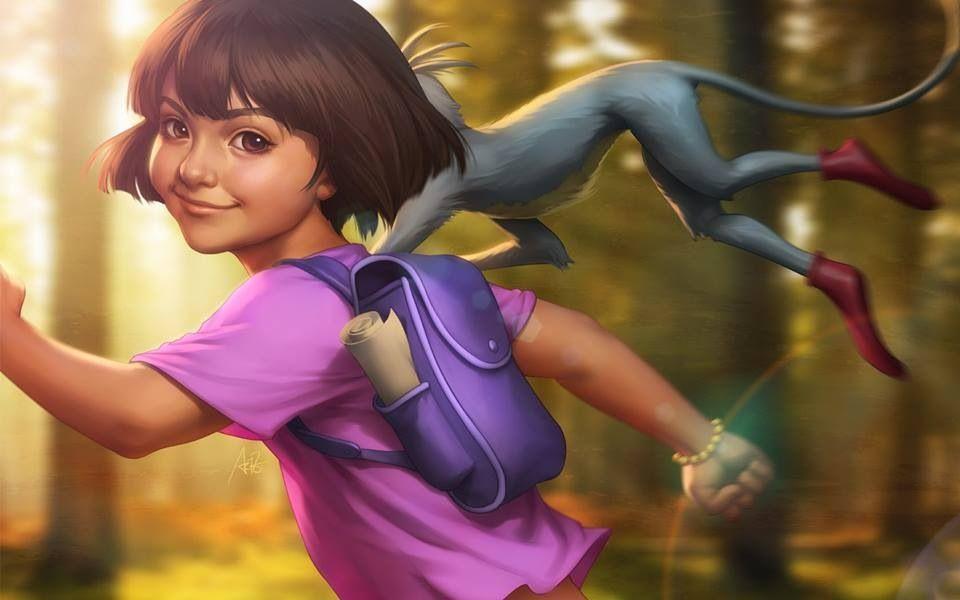 Dora the Explorer By Artgerm