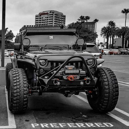 Stunning Black Jeep Wrangler Unlimited Modifications Photos