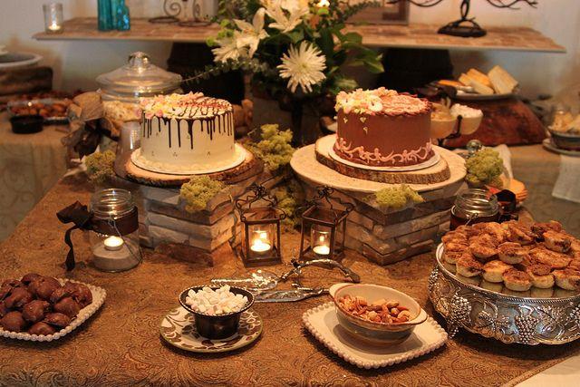Rustic Elegant Wedding Shower Food