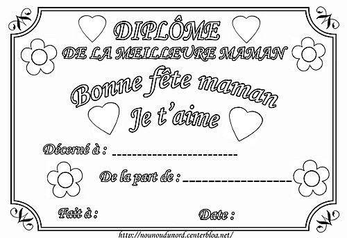 Diplome Bone Fete Maman Pdf Fichiers Partages Acrobat Com Bon Anniversaire Maman Anniversaire Mamie Coloriage Fete Des Meres