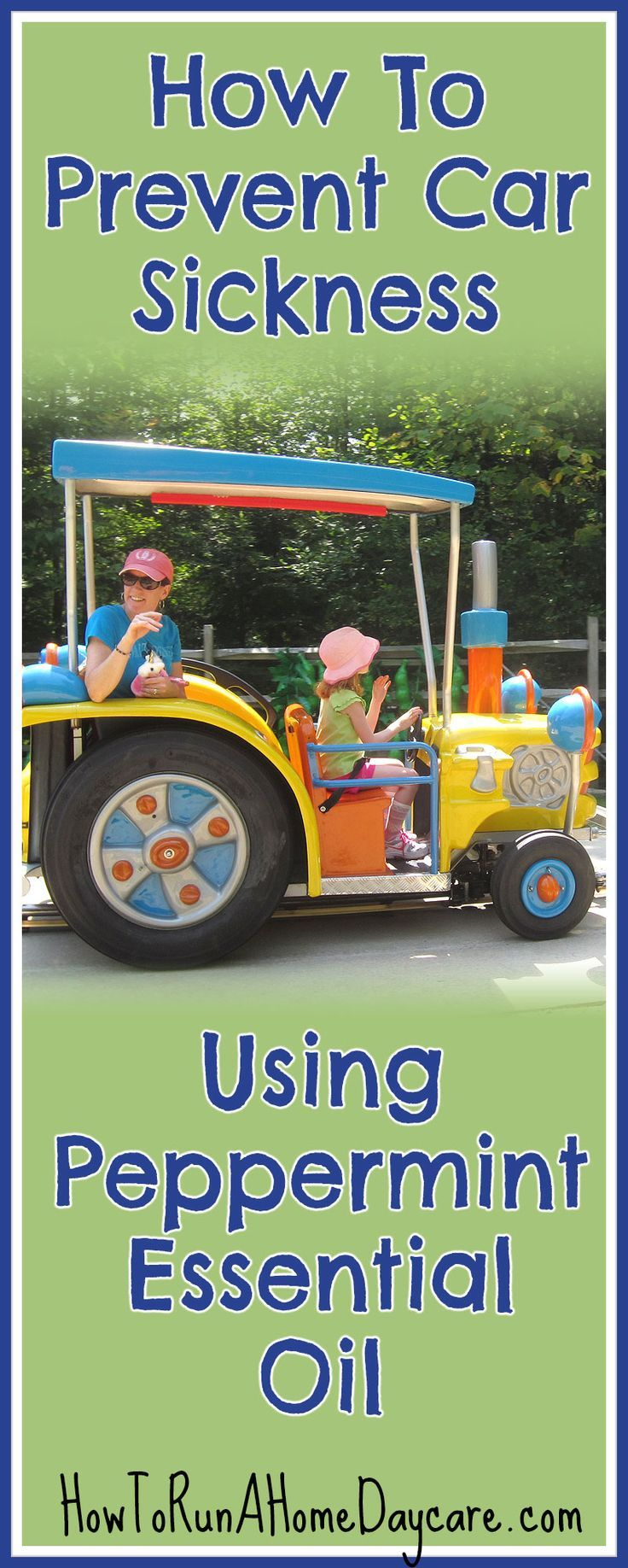 How To Prevent Car Sickness Using Peppermint Essential Oil Car Sick Essential Oils For Kids Motion Sickness Essential Oils