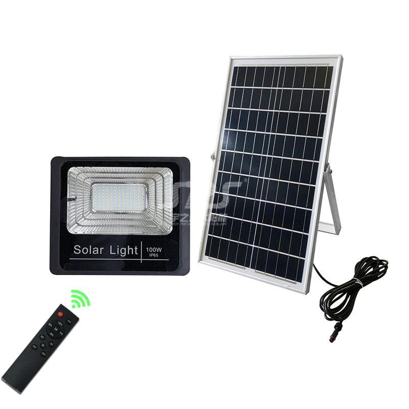 Outdoor High Powered Ip65 Solar Led Flood Light 100 Watt Yzy Ll 106 Solar Flood Lights Solar Powered Flood Lights Flood Lights