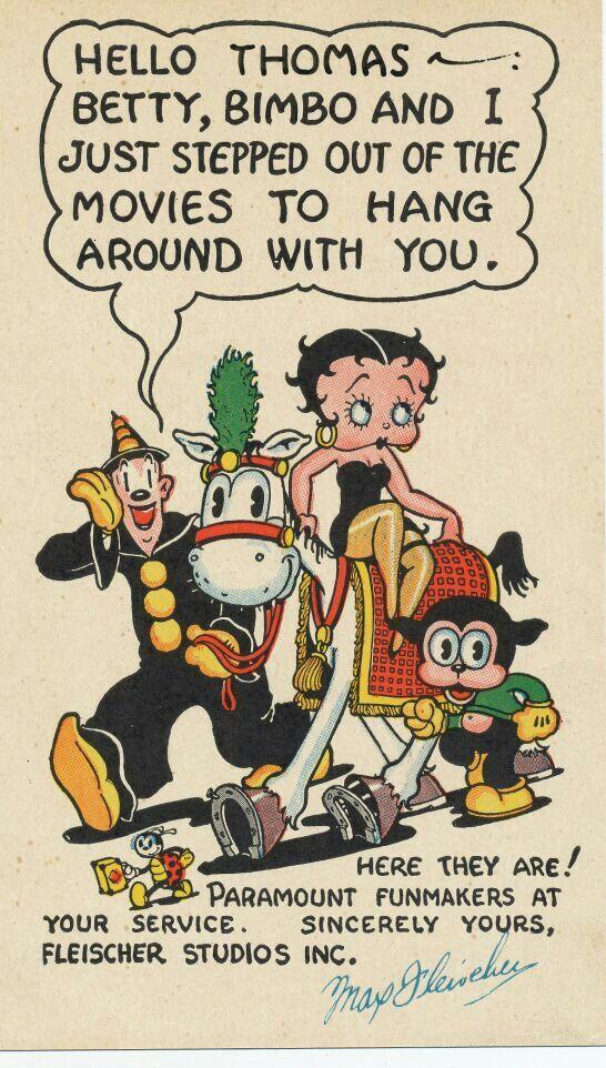 Animados De Betty Boop De Los Anos 30 Betty Boop Betty Boop Comic Boop