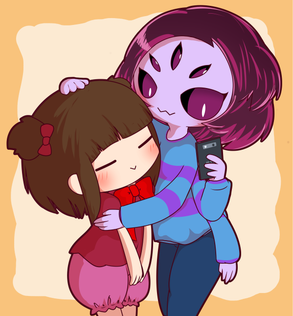 Undertale, Muffet and Frisk