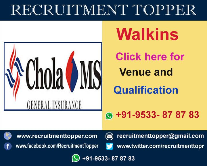 Pin By Recruitment Topper On Walkins In Chennai