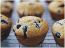 Blueberry Muffins I The Culinary Institute of America